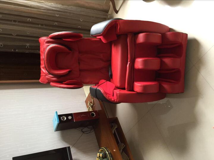 Ocim按摩椅家用全身太空舱 A6豪华版-玫红 晒单图