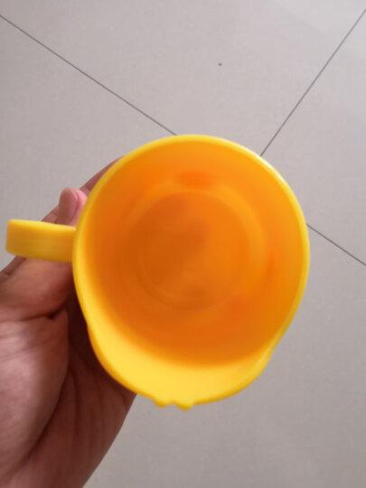 加加林 儿童刷牙杯 卡通漱口杯可爱宝宝防摔小男孩女孩牙刷杯 颜色随机 晒单图