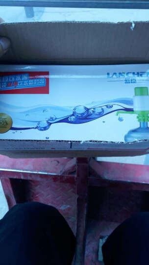 【京东快递】蓝臣 手压式桶装水压水器饮水机 纯净水抽水器 矿泉水吸水抽水泵 新款灰蓝压水器(带止水阀) 晒单图