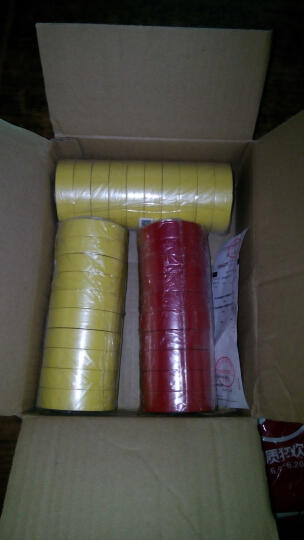 3M 1600#通用型PVC电气绝缘胶带  10卷装  蓝色 晒单图