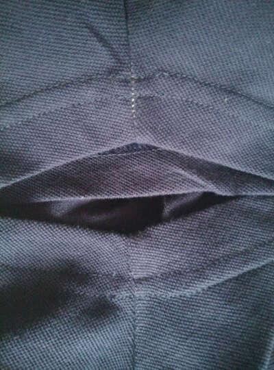 李宁官方运动时尚系列男子短袖POLO衫APLL133-1/-2/-3 新基础黑/花灰 M 晒单图