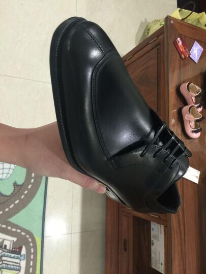 Salvatore Ferragamo 菲拉格慕 男士LANIER系列咖啡色牛皮系带皮鞋 0601546 8/42码 EEE 晒单图