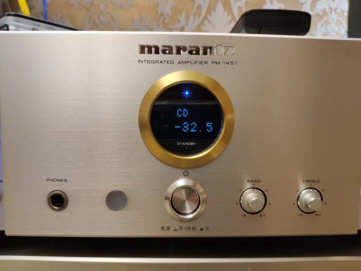 马兰士(MARANTZ) PM-14S1 音响 Hi-Fi 功放 高端premium系列(2*130W)合并式功率放大器 金色 晒单图