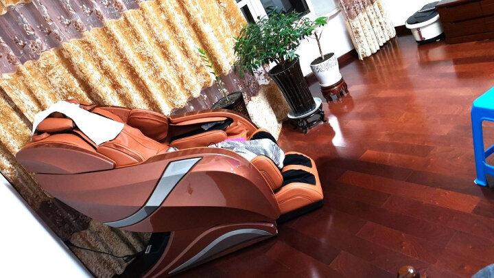 迪斯(Desleep) 美国迪斯按摩椅电动按摩椅家用全身多功能智能操控A16L 土豪金 晒单图