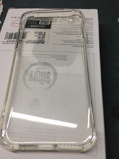 摩斯维 苹果6s手机壳iPhone6/6S Plus保护套硅胶气囊防摔透明男女超薄款全包磨砂软壳个性 plus 5.5英寸-象牙白【限时促销】买一送一 晒单图