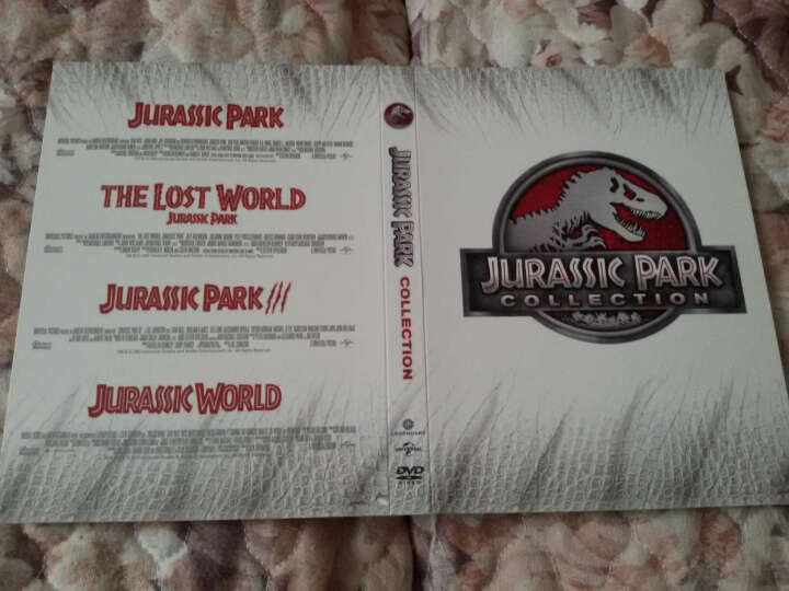 侏罗纪公园四部曲(4DVD) 晒单图