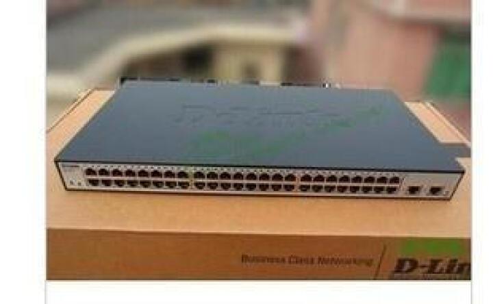 友讯(D-Link)dlink DES-1024R 百兆 非网管 交换机24口 机架式 晒单图