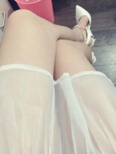 范思蒙  新款单鞋女时尚舒适优雅高跟鞋 姜黄色 37 晒单图