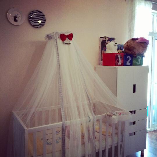 蒂爱 儿童床冰丝凉席 婴儿床亚麻草凉席套装 宝宝冰丝草席 夏天草席凉席 小天使 120*65 晒单图