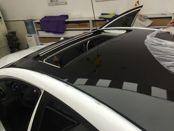迪加伦 汽车车顶膜亮光黑仿全景天窗改色膜三层加厚黑顶改装饰车贴纸 大众福特起亚现代奔驰宝马 1.35宽x1.8米三厢车推荐 起亚 K4 K3 K5 福瑞迪 晒单图
