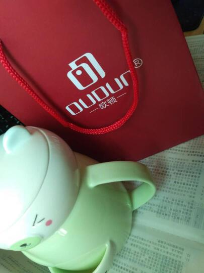 欧顿(OUDUN)手表 男士多功能时尚商务三眼日历运动腕表防水钢带皮带石英男表 3022白盘银圈钢带 晒单图