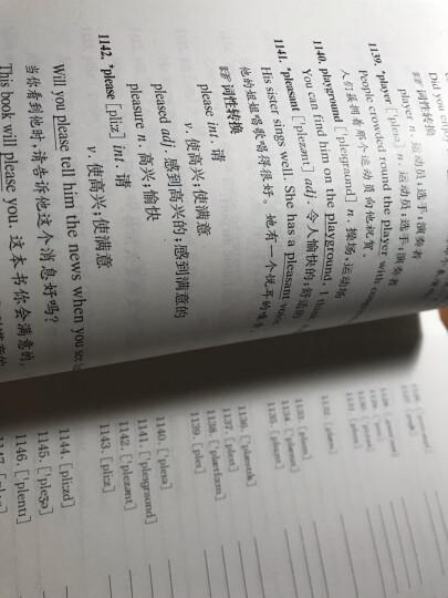 2016年上海市初中英语考纲词汇用法手册(附光盘) 晒单图