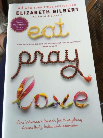 英文原版 Eat, Pray, Love 一辈子做女孩 晒单图