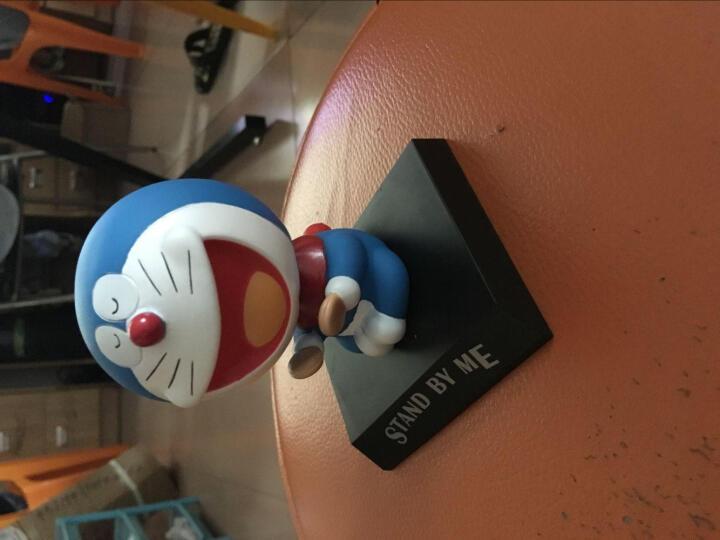 汽车摆件钢铁侠美国队长哆啦A梦创意车载饰品可爱摇头公仔娃娃 太阳能(蓝胖子队长)笑脸款 晒单图