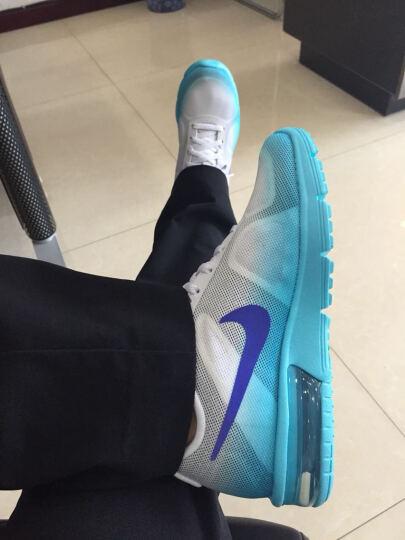 耐克 Nike 男款运动鞋AIR MAX气垫 缓震跑步鞋 休闲鞋 852461-011黑/灰荧光绿 44 晒单图