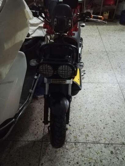 日杰(RIJIE)祖玛电动车电动摩托车电瓶车1800W72V踏板摩托车电车电摩军绿色 酒红 超威72v20A 6个电瓶 晒单图