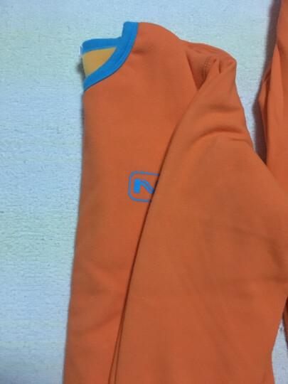 南极人儿童保暖内衣秋冬季男女儿童内衣加厚加绒黄金暖甲小孩子宝宝棉秋衣秋裤套装 男童麻灰 130 晒单图