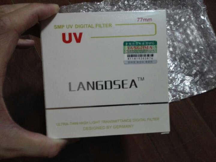 LANGDSEA UV滤镜 尼康/佳能/小痰盂适用 单反镜头保护 滤光镜 82mm 晒单图