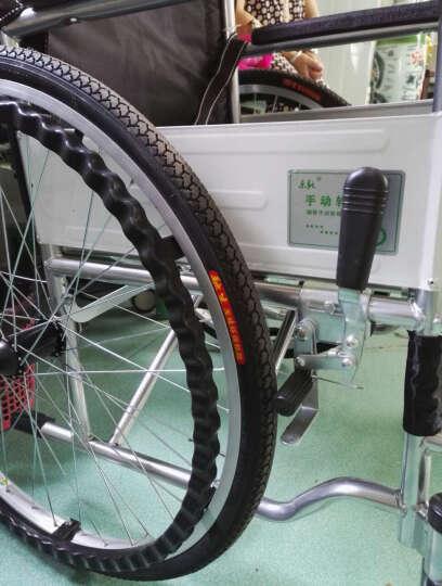 乐驰(LECHI) 手动轮椅车 坐便轮椅老人残疾人代步车出行车 手动轮椅车 便携轮椅 舒适款(牛津布座面) 晒单图