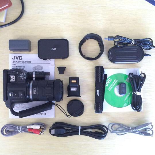 杰伟世(JVC ) GC-PX100BAC 高速/高清摄像机  体育/运动/赛事摄像机 (WIFI、内置32G卡) 晒单图