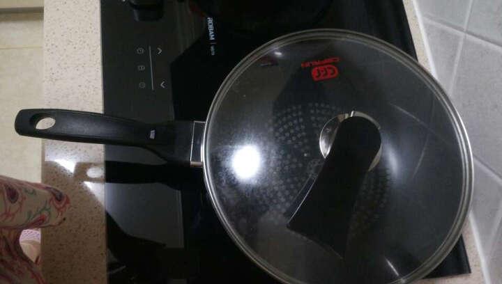 赛普瑞斯 (CEFRUN) 炒锅不粘锅 钻石技术30cm 无油烟平底炒菜锅 电磁炉燃气灶通用 赛普瑞斯22汤锅 晒单图