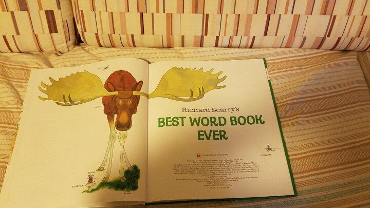 斯凯瑞:棒棒的单词书进口原版 精装 童趣绘本学前教育 晒单图