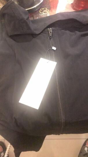 INSMANX男士塑身背心塑身塑型紧身内衣束胸收腹薄款透气拉链款 黑色 M(体重120-160斤) 晒单图