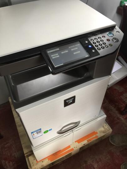 夏普(SHARP)2508NC/2008UC大型A3办公彩色激光A3A4一体机复印机扫描打印机复合机 2008UC+盖板(扫描到U盘) 官方标配+工作台 晒单图