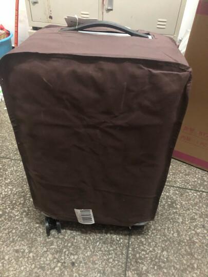 博兿(BOYI)万向轮拉杆箱24英寸男女士旅行箱轻盈行李箱 BY-72002极光蓝 晒单图