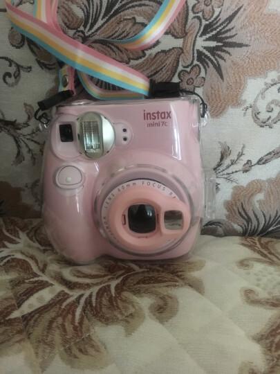 富士checky相机配件 一次成像 mini8 mini7s mini7c相机专用自拍镜 粉红色 晒单图