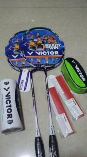 威克多VICTOR正品胜利羽毛球拍对拍碳素中杆 初学进攻型羽拍送训练耐打球(已穿线) MX-8366碳素中杆对拍 晒单图