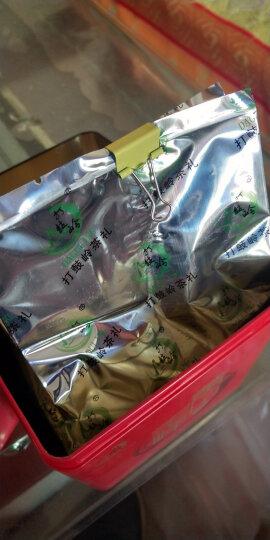 【发2罐共300克送礼袋】打鼓岭 安徽黄山毛峰新茶 揉捻型150克黄山云雾绿茶茶叶春茶礼品 晒单图