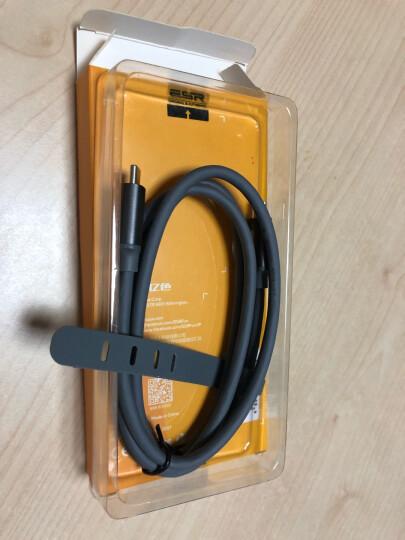 亿色(ESR) USB/Type-C数据线3.1双Type-C 小米9/8/ipad pro11/12.9数据线 PD手机快充数据线3A 深空灰1M 晒单图
