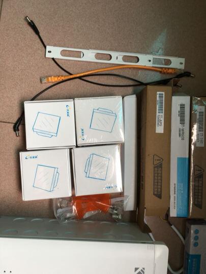 e代家园 /极乎系统/5热点/弱电箱家用套装/86型无线AP入墙式路由模块 晒单图