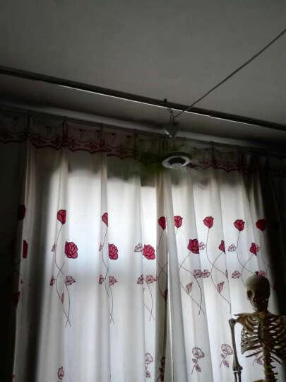 简格金属浴帘挂钩 浴环 窗帘挂环 葫芦滚珠  C形环 12个 晒单图