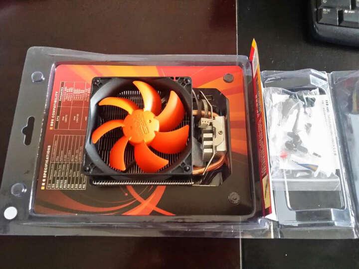 超频三(PCCOOLER)红海 CPU散热器(CPU风扇/9CM静音风扇/多平台/2热管/附带导热硅脂) 晒单图