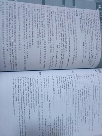 """剑桥""""英语在用""""(ENGLISH IN USE)丛书:剑桥高级英语语法(第2版中文版) 晒单图"""