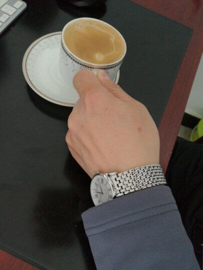 罗西尼(ROSSINI)手表 启迪系列·丝绸腕表 女表 复刻经典商务石英表 钢带女士腕表6356W01G 晒单图