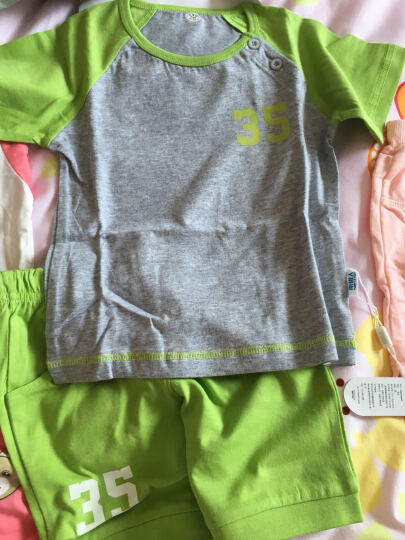 南极人(Nanjiren) 南极人男童卫衣外出服上衣春秋季新款圆领打底衫外出服T恤 剪纸小马-白色 100CM 晒单图