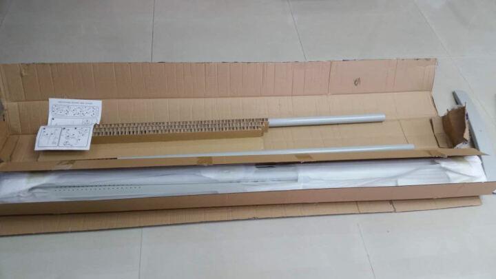 VIZ-PRO 移动白板写字板 办公室磁性黑板大白板支架式 双面投影搪瓷120*90cm 晒单图