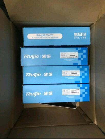 锐捷(Ruijie) 企业级VPN上网行为管理路由器 RG-NBR700G 千兆 晒单图