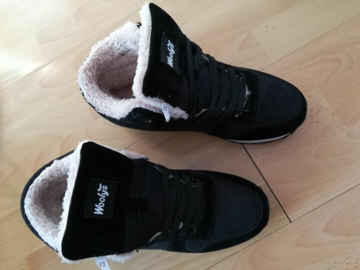 美连诚 休闲鞋棉鞋男士18冬季新款大码加绒加厚保暖雪地靴男女情侣短靴子 鞋子偏小一码,请买大一码的 37 晒单图