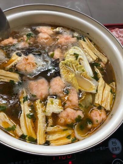 唐人基 冷冻海鲜北海青虾滑 180g/盒 火锅食材 虾滑丸子 虾仁清晰看得见 晒单图