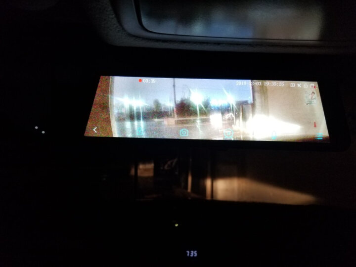 凌度 智能行车记录仪双镜头 高清夜视全景流媒体倒车影像一体机 导航电子狗后视云镜 10吋标准版+无光夜视流媒体+32G(套餐一) 晒单图