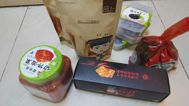 徽记香辣川菜258g 川味麻辣休闲零食 土豆片 晒单图