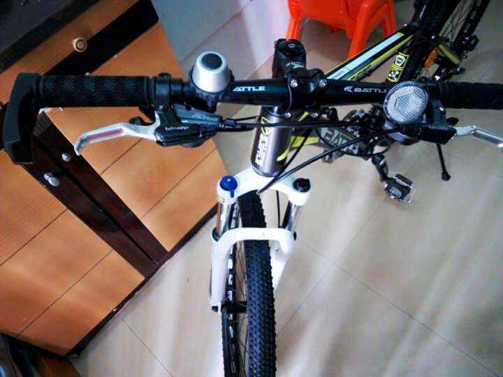 邦德 富士达\BATTLE山地自行车 27速 禧玛诺 飞跃500 24寸璀璨蓝 晒单图