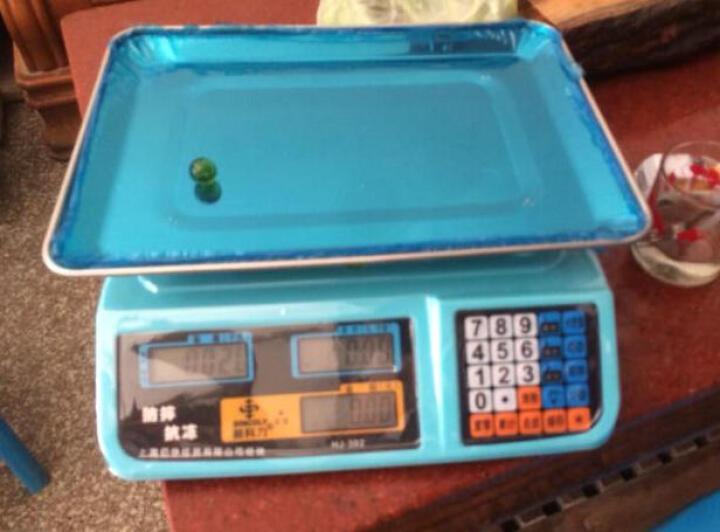 新科力 家用电子称台秤商用超市蔬菜水果台式称电子计价秤 红字蓄电池款(蓄电池供电 蓄电池可用半月) 晒单图