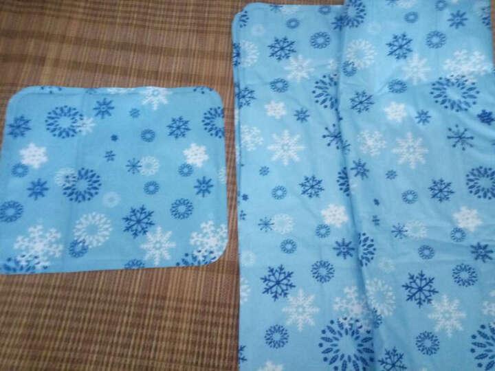 悠乐朋(Ulecamp)夏季冰凉席多功能冰垫沙发垫床垫汽车坐垫防潮垫75*170cm雪花色 晒单图