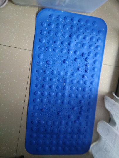 瑞邦(Rui.B)进门地垫门垫入户门厅防滑垫卧室厨房家用吸水脚垫定制门垫 多色圆点 48*78cm 晒单图