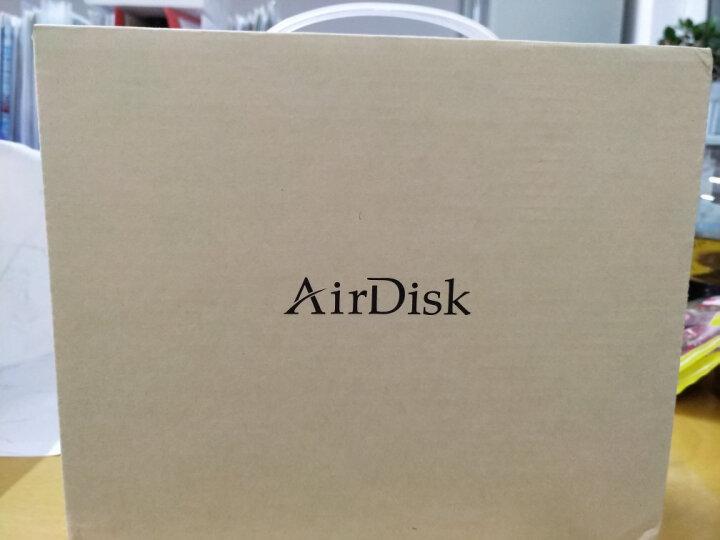 AirDisk存宝Q3C网络移动硬盘盒照片存储移动备份盘家用NAS家庭文件服务器私有云手机云盘网盘 黑色 1TB 晒单图